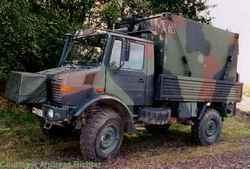 КШМ ADLER II на шасси грузового автомобиля