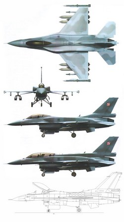 Lockheed Martin F-16 Fighting Falcon ВВС Польши
