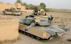 Танк Абрамс в конфигурации M1A2 SEP V2