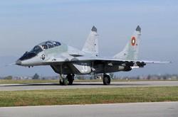 МиГ-29 ВВС Болгарии