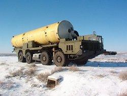 Транспортировка ракеты 53Т6