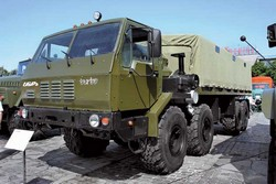 Опытный КрАЗ-6Э6316