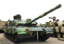 ZTZ96A Основной боевой танк