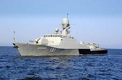 Малый артиллерийский корабль Астрахань проекта 21630.