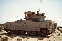 БМП Bradley вооружённых сил Египта