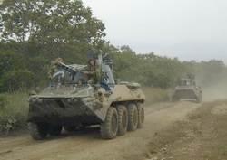 Самоходное артиллерийское орудие 2С23 НОНА-СВК