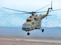 Вертолет Ми-8 вооруженных сил Узбекистана