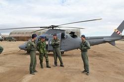 Вертолет A-109 ВВС Швеции