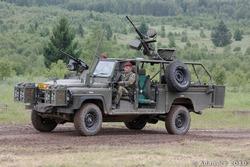 Land Rover ВС Чехии