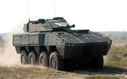 Самоходный миномет Patria AMOS