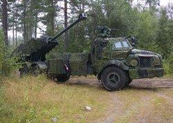 Самоходное артиллерийское орудие FH77 BW L52