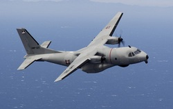 CN-235MPA Persuader - патрульный самолет ВМС Мексики
