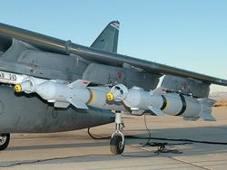 Бомбы Paveway IV на Harrier GR.9