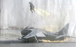 Харриер II GR9 во время аварии