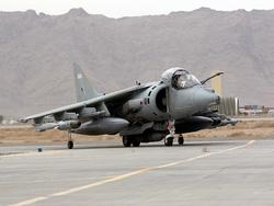 Harrier GR.9 после задания