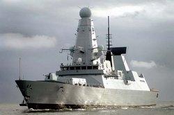 Эскадренный миноносец Тип-45 HMS Dauntless
