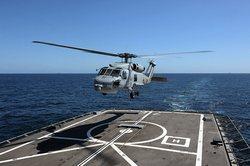 Многоцелевой вертолет S-70B военно-морских сил Сингапура