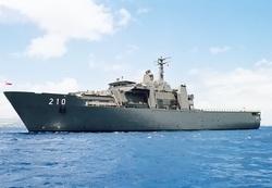 Десантный корабль-док RSS Endurance военно-морских сил Сингапура