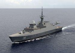 Фрегат RSS Steadfast военно-морских сил Сингапура