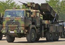 Т-122 Roketsan реактивная система залпового огня