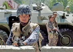 Спецназ вооруженных сил Узбекистана