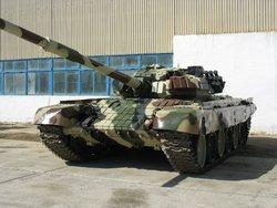 Танк Т-72БВ вооруженных сил Азербайджана