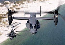 CV-22 Osprey Многоцелевой военно-транспортный самолет