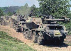 152-мм самоходная гаубица-пушка ДАНА