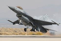 F-16 Fighting Falcon Lockheed Многоцелевой истребитель