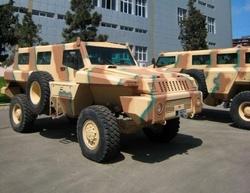 Бронированая машина Marauder вооруженных сил Азербайджана
