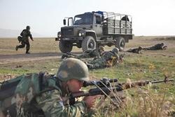 Военнослужащие вооруженных сил Армении