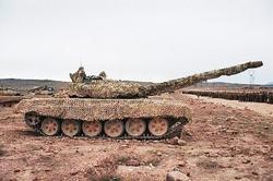 Комплекс пассивной маскировки танков Накидка