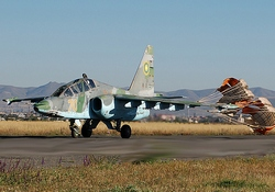 Су-25 вооруженных сил Армении