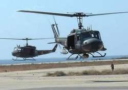 Многоцелевые вертолеты UH-1H ВВС Ливана