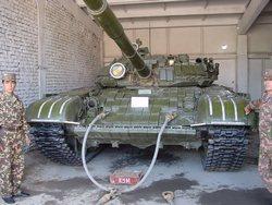 Танк Т-72 вооруженных сил Узбекистана