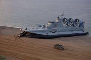 Десантный корабль на воздушной подушке Зубр Греции