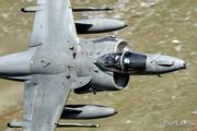 Тренировочные полеты Harrier GR.9