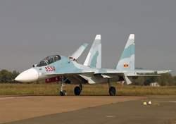Су-30МК2 истребитель ВВС Вьетнама