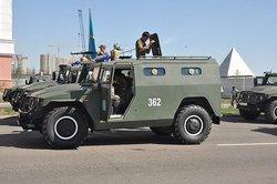 Бронеавтомобиль Тигр в Казахстане