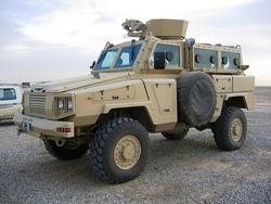 RG-31 бронемашина