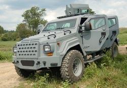 Gurkha LAPV бронемашина
