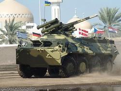 БТР-3Е1 бронетранспортер