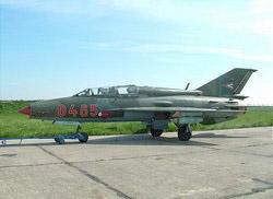 МиГ-21 István Jankovics