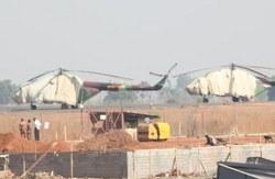 Ми-17В-5 в Джубе