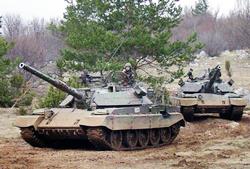 M-55 S1 Основной боевой танк
