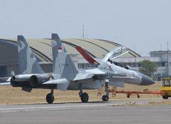 Су-30МК2 индонезийских ВВС