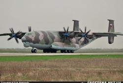 Ан-22 ВВС РФ в Запорожье