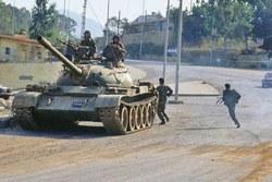 Танк ВС Сирии