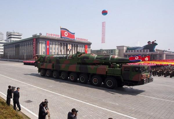 Новые баллистические ракеты средней дальности KN-08