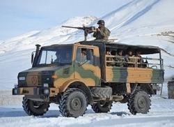 Unimog 4x4 ВС Турции
